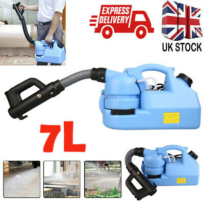 ULV Electric Fogger Fogging Disinfection Machine Sprayer 7L Portable UK Stock