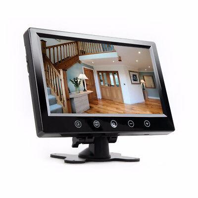 """17,8 cm 7"""" LCD Überwachungsmonitor für Überwachungskamera Farbe Monitor"""