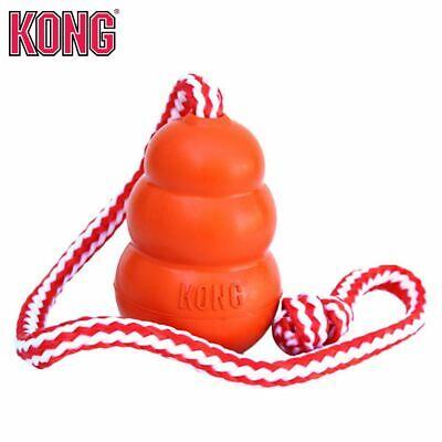 KONG Aqua - Apportierspielzeug Wasserspielzeug Hundespielzeug Wurfseil schwimmt