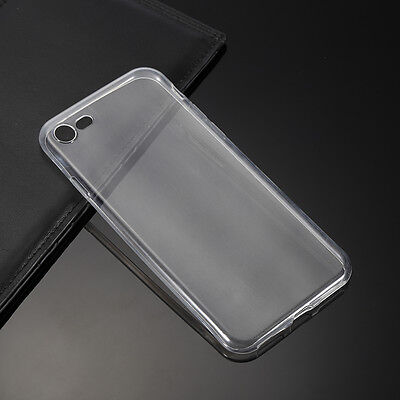 For Apple iPhone Series TPU Gel Jelly Skin Case / Cover Crystal Clear Jelly Skin Cover