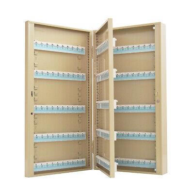 200 Hooks Key Lock Box Safe Wall Mount Holder Hooks Lock Box Cabinet Storage