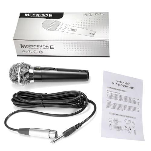 Profi Mikrofon Dynamisches Gesangsmikrofon Studio, 5m Kabel  microphone _DHL_DE
