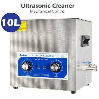 10l 240w Heated Industrial Stainless Steel Ultrasonic Parts Professional Cleaner