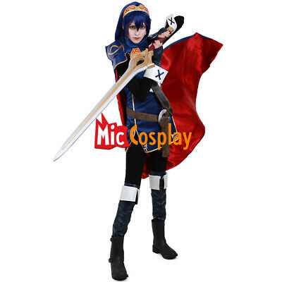 Fire Woman Halloween Costume (Fire Emblem Awakening Lucina Cosplay Costume Woman Halloween)