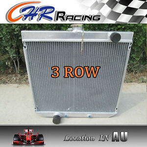 56mm 3 core all aluminum radiator for  Ford XY XW 302 GS GT 351 cleveland