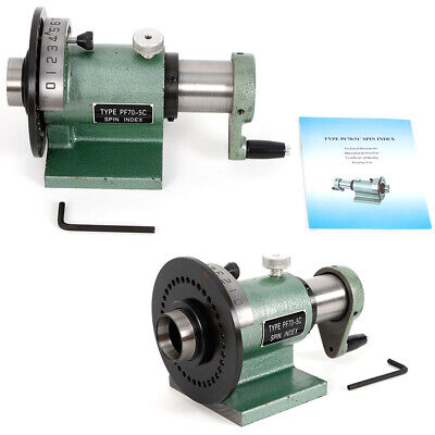 Indexing Fixture Indexer Precision Collet Spin Index Fixture Milling Jig Pf705c