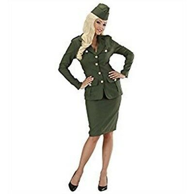 Ladies WW2 Soldier Girl Costume Extra Large Uk 18-20 For Military War Fancy -](World War 2 Costumes For Ladies)