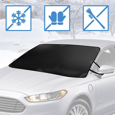 Car Windshield Cover for Ice and Snow, Magnetic Waterproof Frost Protector (Car Windshield Cover For Snow And Ice)