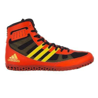 official photos 08fc0 33504 Adidas Mat Wizard Men s Wrestling Shoes Red Yellow Black BB2859