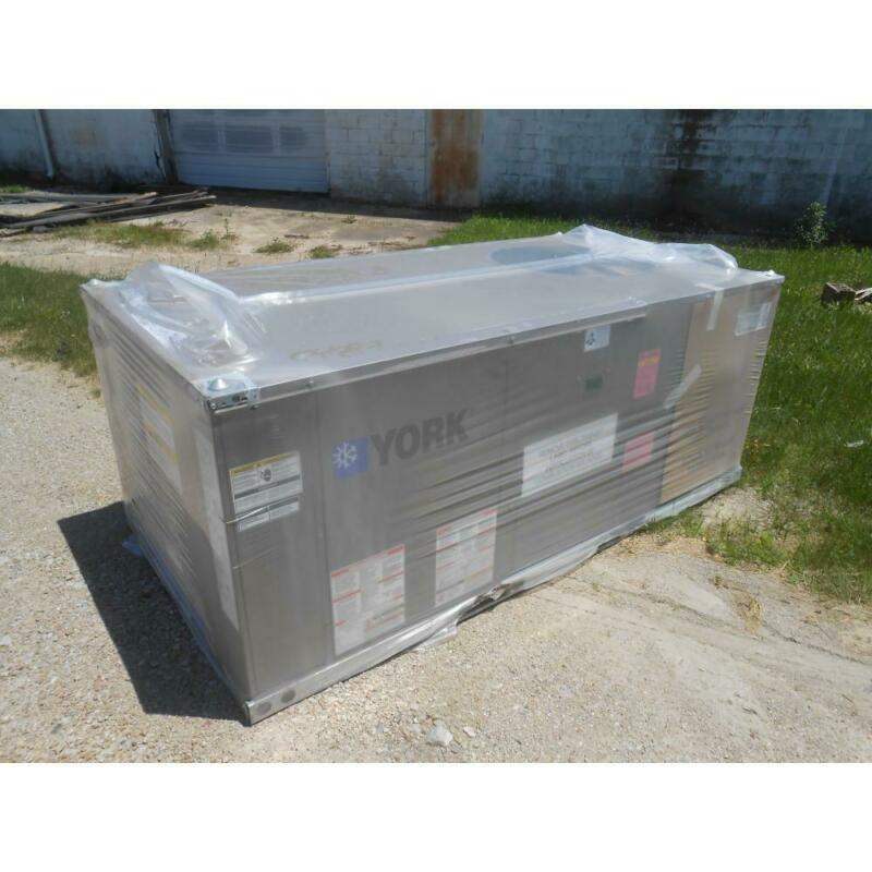 YORK ZF048H12B4A1ABA1A1A 4 TON ROOFTOP GAS/ELECTRIC AC, 13 SEER 3-PHASE R-410A