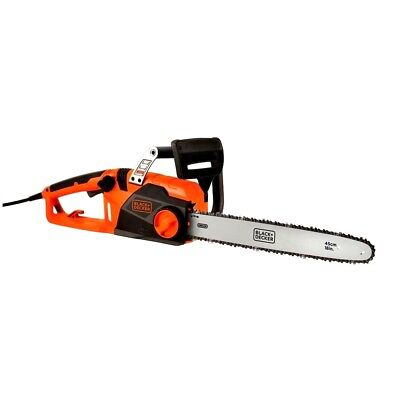 NEW Black Decker CS1518 ChainSaw 18'' Bar Corded Electric 110v  Black And Decker Electric Chainsaw
