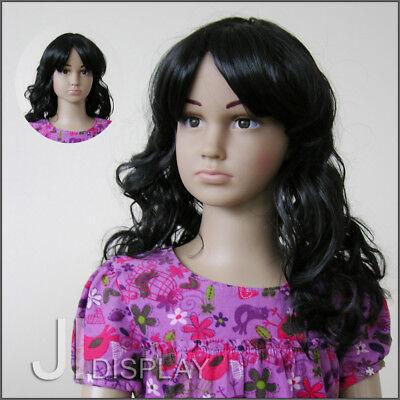 2 Perücke (JI DISPLAY Kinder Perücke Wig für Kinderpuppen Mannequin Schaufensterpuppe 004-2)