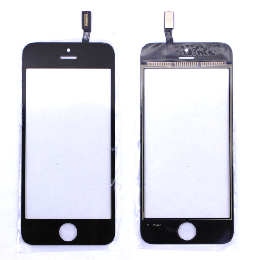 iphone 5c glass replacement for apple iphone 5s 5c black replacement touch screen 14666