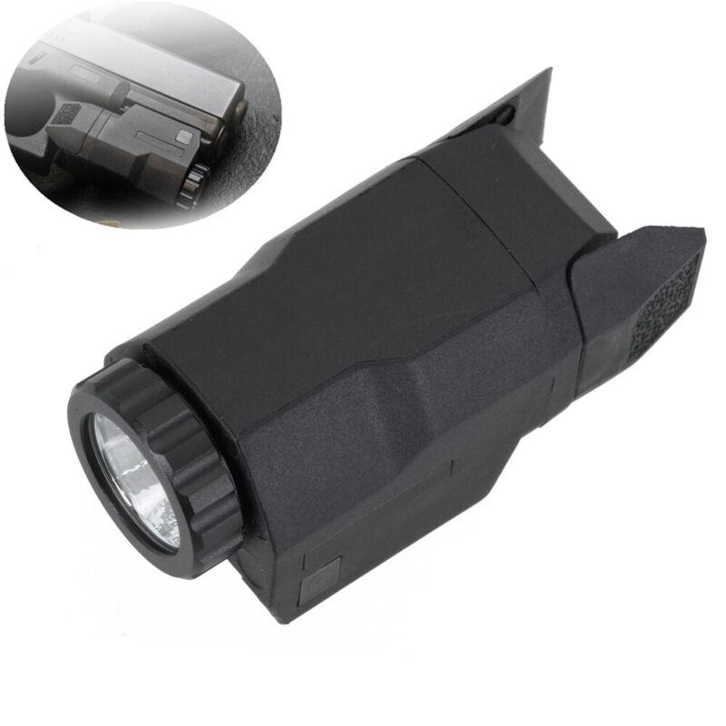 Black Tactical flashlight Mini Constant/Momentary/Strobe 200 Lumens LED Light