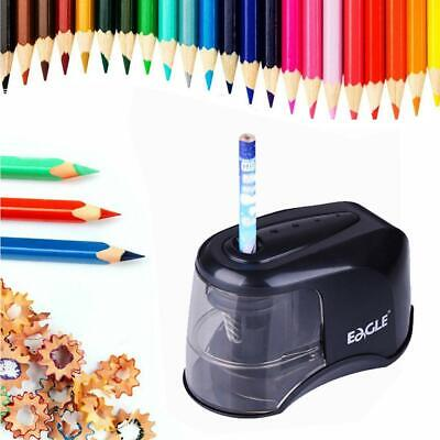 Automatic Electric Pencil Sharpener Touch Switch Desk Office School Portable