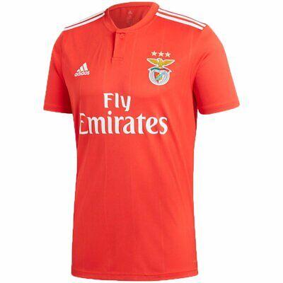 New ADIDAS Benfica SLB Home Red Soccer Futbol Jersey MENS XXL 2XL Sagres Adidas Soccer Jersey