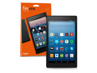All-New Fire HD 8 Tablet with Alexa (2017) - Black /w Slim Stand Cover - BOXED