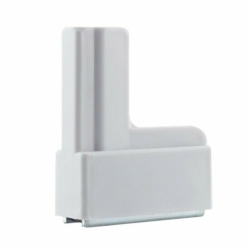 10 PACK Magnetic Base Store Sign Display Holders - L Shaped WHITE *NEW*