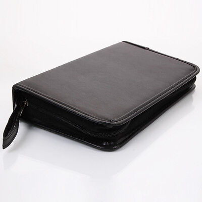 New 80 Disc CD DVD VCD PU Leather Storage Organizer Holder MediaBag Case Wallet
