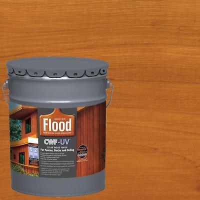 Oil Based Exterior Cedar Tone Paint Stain Wood Finish 5 Gal CWF UV (Exterior Oil Stain)