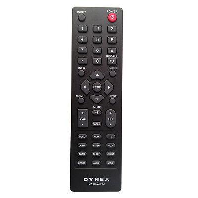 New DX-RC02A-12 LCD TV Remote For Dynex DX-26L100A13 DX-32L100A13 DX-32L152A11