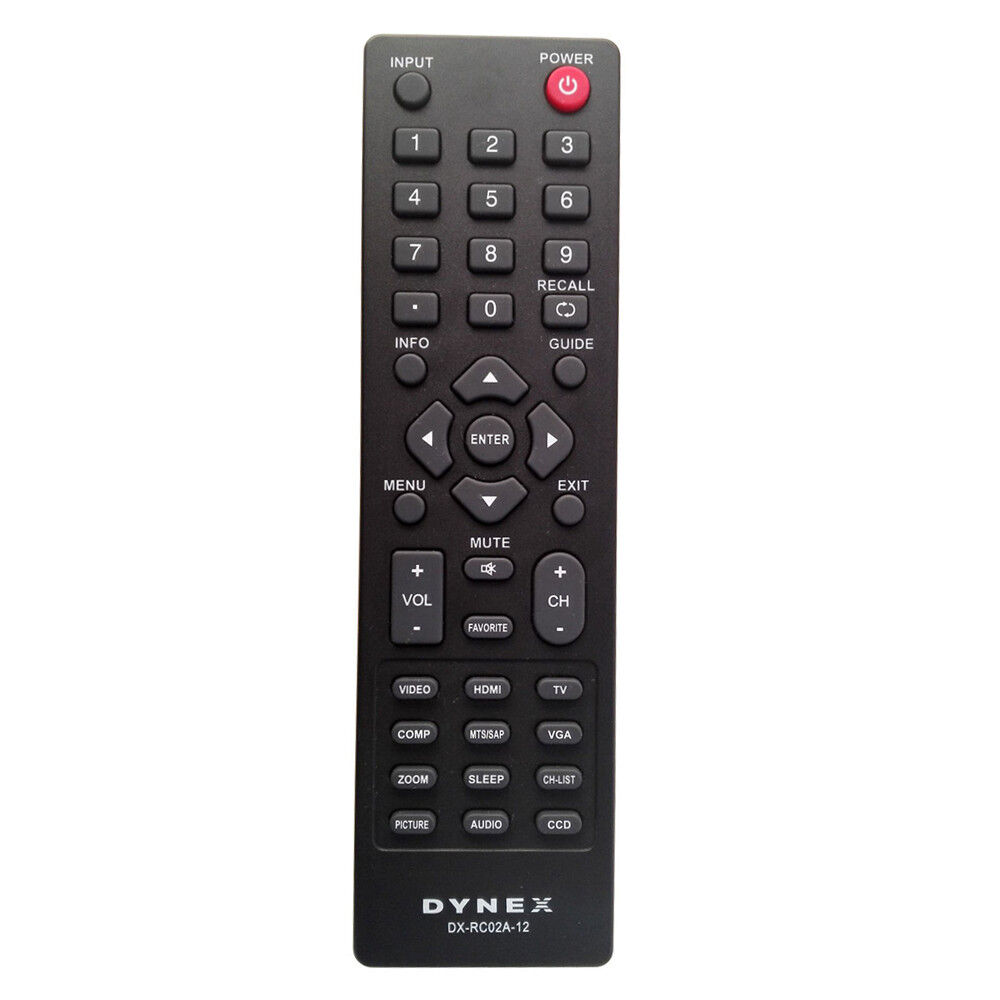 Купить New DX-RC02A-12 LCD TV Remote For Dynex DX-26L100A13 DX-32L100A13 DX-32L152A11