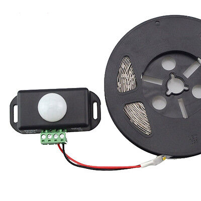 Dc12v-24v 8a Automatic Infrared Pir Motion Sensor Switch Led Strips Light Ass