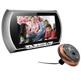 """4.3"""" LCD 140 Degree Peephole Viewer Door Eye Doorbell Home Security+PIR Motion"""