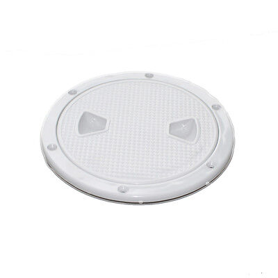 """Marine Boat Deck Access Hatch /& Lid 24/"""" x 14/"""" White ABS Construction Durrable US"""