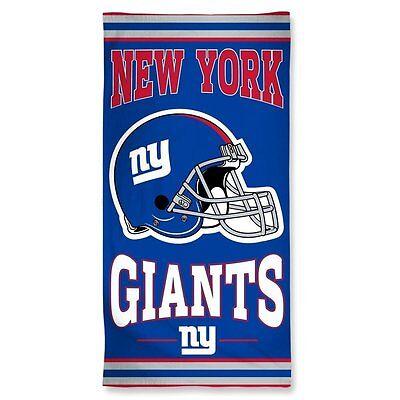 NEW YORK NY GIANTS Handtuch Towel Helm neu OVP 150x75cm (Nfl Neue Helme)