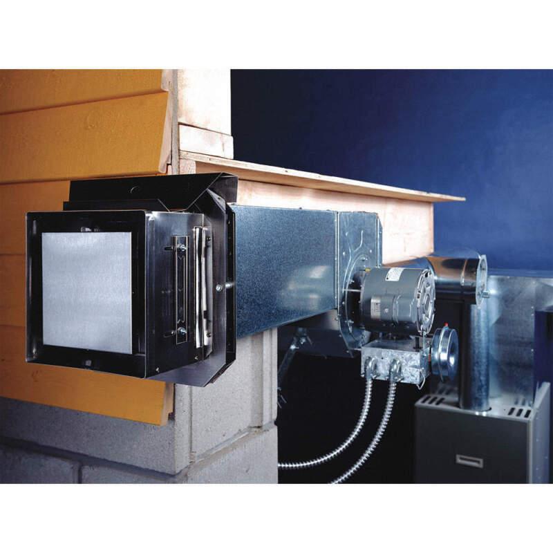 TJERNLUND SS1 Power Venter,Sidewall,6 In