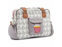 New Yummy Mummy Baby Changing Nappy Bag - Wise Owls- Reduced due to watermark RRP £79.99