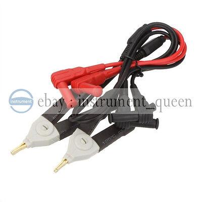 Uni-t Ut-l61 Kelvin Multimeter Leads Probes Clip Test Line Cable For Ut612ut611