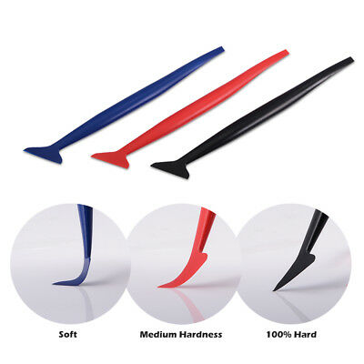 3PCS Car Vinyl Wrap Tuck Tools Gasket Micro Squeegee for Window Tint Application