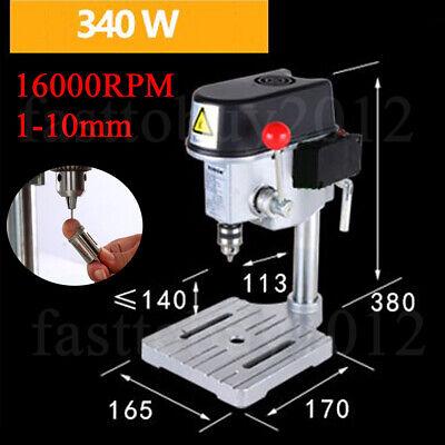 16000rpm Highspeed Precision Mini Drill Press Bench Wood Drilling Machine 1-10mm