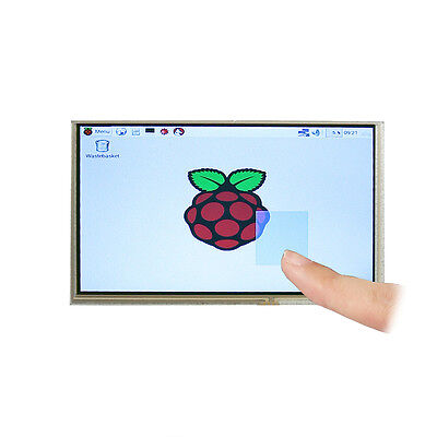 US Ship 7 Inch TFT LCD Touchscreen + Driver HDMI VGA for Raspberry Pi 3 Model B
