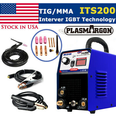 Tig Arc Welder Inverter Igbt Mma 110220v Dc Portable Machine - Iron Copper