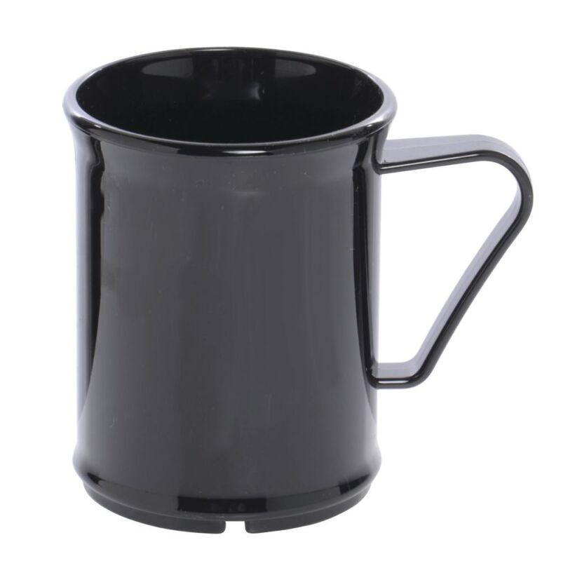 Cambro� Camwear� 9.6 oz Black Polycarbonate Mug (96CW110)