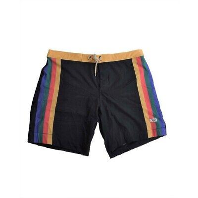 Duvin Men's Better Days Striped Swim Trunks Multicolor