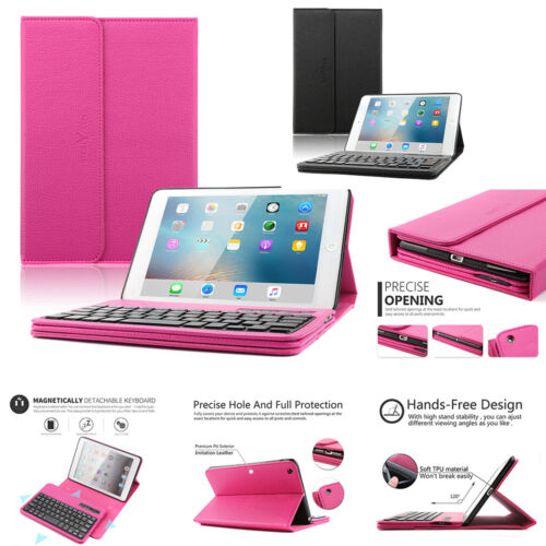 Leather Smart Case Portable Keyboard Case Protective Cover F