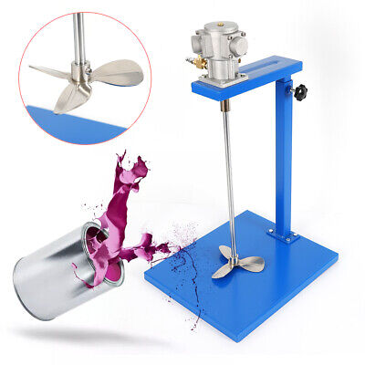 5 Gallon Air Paint Mixer Pneumatic Mixing Machine W Standshaft Stainless Steel