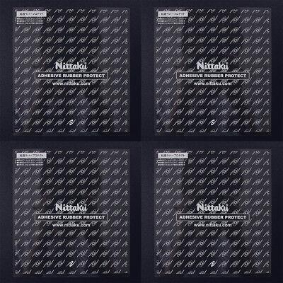 Nittaku Adhesive Rubber Protected Film 4 Sheets Ping Pong Table Tennis NL-9648