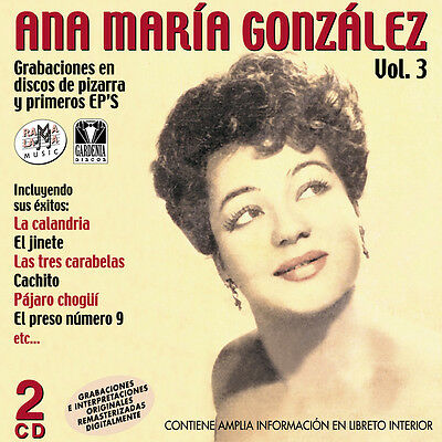 ANA MARIA GONZALEZ-VOL.3-2CD