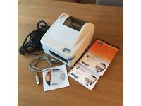 Datamax O Neil E-4203 Mark II Thermal Label Barcode Printer USB Parallel RS232 with leads & instruct