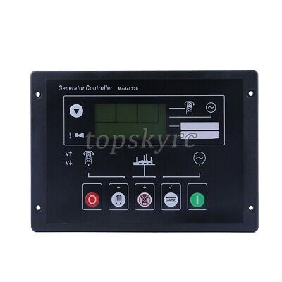 Auto Start Generator Controller 720 Amf Control Module Panel Replaces Dse720 Tps