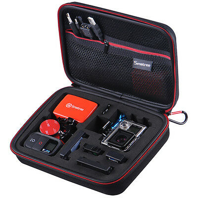 Smatree Carry Hard Case G160 For GoPro Accessories Hero 6 5 4 3+ 3 2 1 Camera