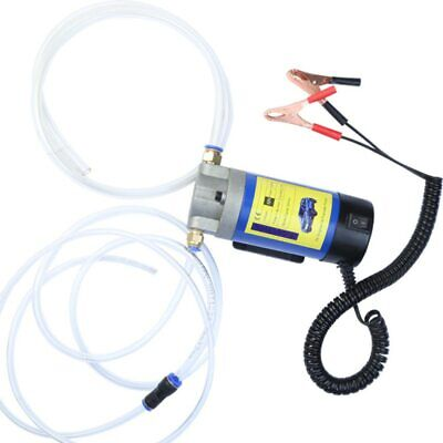 12v Portable 100w Electric Oil Transfer Pump Extractor Fluid Suction Pump 4lmin