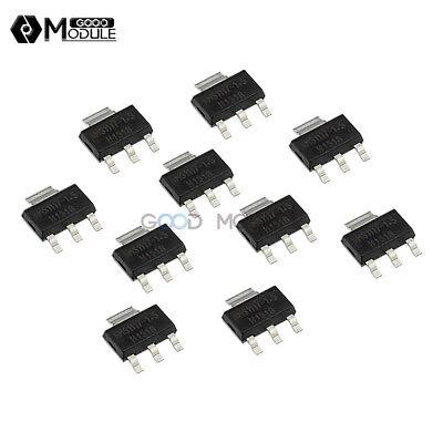 10pcs Ams1117-1.5 Ams1117 Lm1117 1a 1.5v Sot-223 Voltage Regulator Ic New G