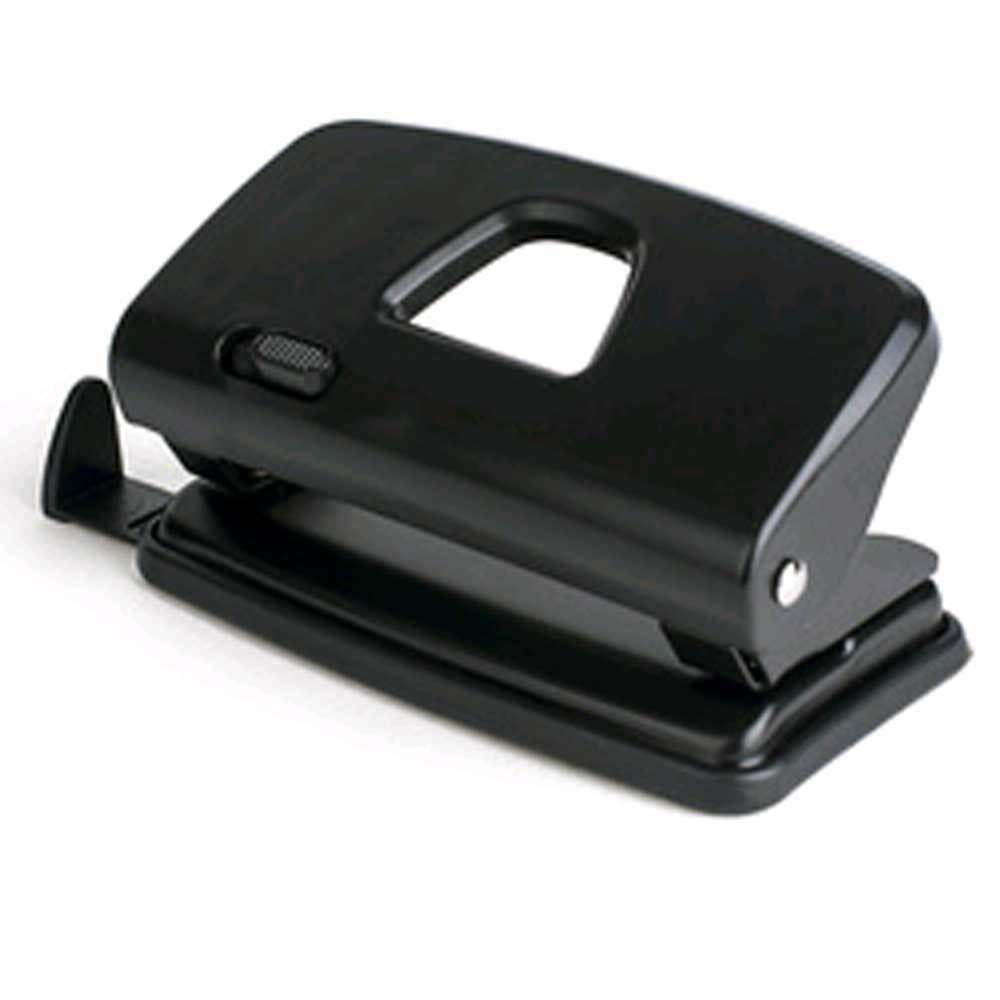 Locher pavo, Stanzleistung: 10 Blatt, schwarz, Bürolocher