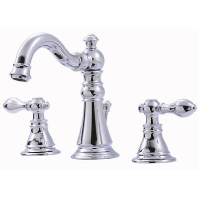Ultra Faucets Signature Collection 8 in. Widespread 2-Handle Bathroom Faucet Collection 8 Widespread Bathroom Faucet